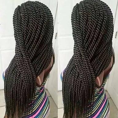 grey / blue / purple / Red / #1B / Dark Brown / Medium Brown / Strawberry Blonde / Light Auburn Havana Twist Braids Hair Extensions