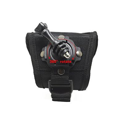 Stativ / Montert Justerbar / Praktiskt Til Action-kamera Alle / Gopro 5 / Gopro 4 Black Universell / Bergklatring / Sykkel Syntetisk -