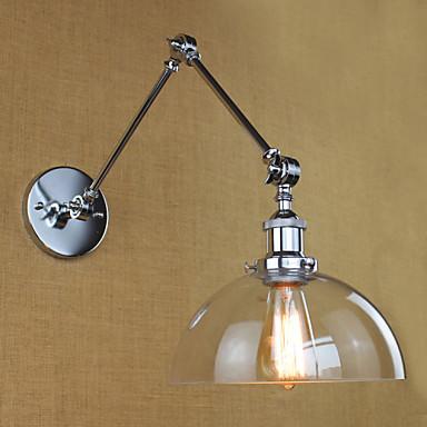 Modern/kortárs Swing kar fények Kompatibilitás Üveg falikar 110-120 V 220-240 V 40W