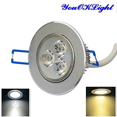 YouOKLight 300 lm Taklys 3 LED perler Høyeffekts-LED Mulighet for demping / Dekorativ Varm hvit / Kjølig hvit 220-240 V / 110-130 V / 1 stk. / RoHs / 80