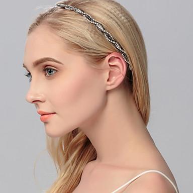 Umjetno drago kamenje Trake za kosu 1 Vjenčanje Special Occasion Kauzalni Ured i karijera Vanjski Glava