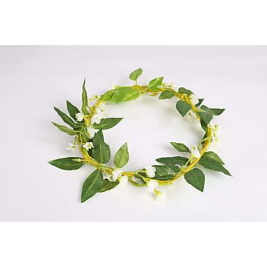 נשים נערת פרחים בד פלסטיק כיסוי ראש-חתונה אירוע מיוחד קז'ואל זרי פרחים חלק 1