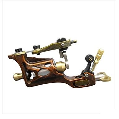 מכונת קעקועים מסתובבת עבודת יד ליינר וגוון סגסוגת מכונת קעקוע מקצועי