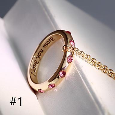 Ogrlice Ogrlice s privjeskom Jewelry Vjenčanje / Party / Dnevno / Kauzalni Legura Zlatna / Srebrna 1pc Poklon