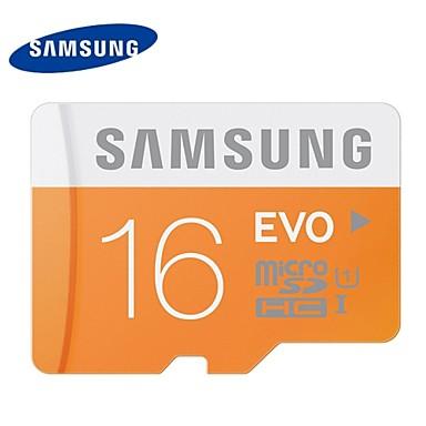 סמסונג בכיתה 16gb 10 microSD / microSDHC / microsdxc / TF 48MB / s 10MB / s כרטיס זיכרון