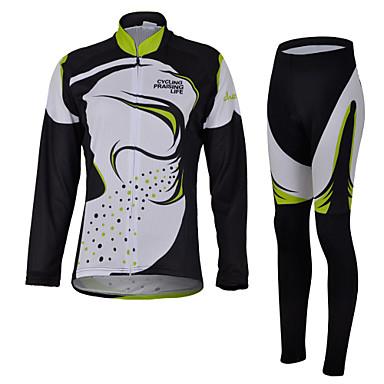 cheji® Biciklistička majica s tajicama Žene Dugih rukava Bicikl Rukavi Biciklistička majica Kompleti odjeće Quick dry Ultraviolet