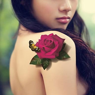 Tatuointitarrat - BR - Korusarjat / Kukkasarjat / Toteemisarja / Muut - Glitter -Non Toxic / Kuvio / Suuri koko / Glitter / Kynäruisku /