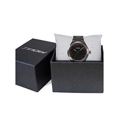 SINOBI Férfi Karóra Kvarc Vízálló Sportos óra ötvözet Zenekar Luxus Fekete Fekete