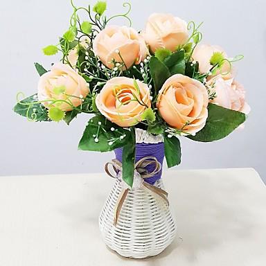 Plastik Güller Yapay Çiçekler
