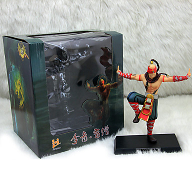 League of Legends Lee Sin PVC The Blind Monk 18CM Anime Action Figures Doll Toys Model