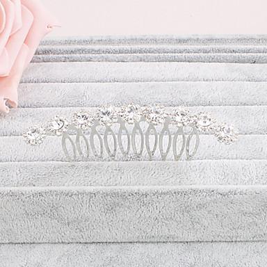 Umjetno drago kamenje Kose za kosu 1 Vjenčanje Special Occasion Kauzalni Ured i karijera Vanjski Glava