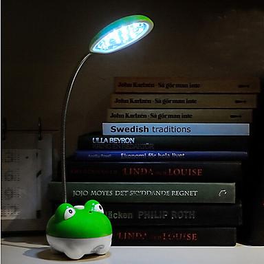 Moderni taitettava säädettävissä lataus pöytälampun pöytävalaisin ladattava led lukuvalo