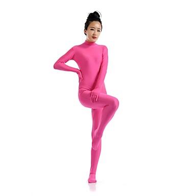 Ternos Zentai Ninja Fantasia Zentai Fantasias de Cosplay fúcsia Sólido Collant / Pijama Macacão Fantasia Zentai Elastano Licra Homens