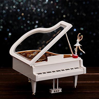 Spieluhr Spielzeuge Piano Kunststoff 1 Stücke Geburtstag Geschenk