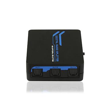SPDIF / TOSLINK digitalni optički audio 1x5 razdjelnik CE FCC Roš certifikat