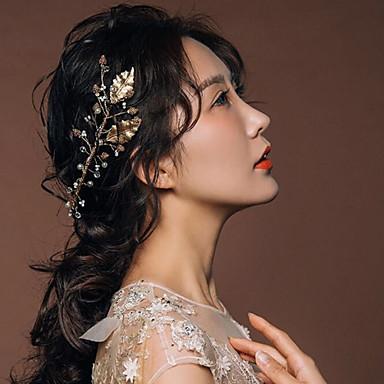 נשים סגסוגת כיסוי ראש-חתונה אירוע מיוחד סרטי ראש חלק 1