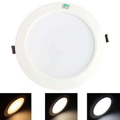 15W Mennyezeti izzók 60 SMD 5730 1300 lm Meleg fehér / Hideg fehér / Természetes fehér Dekoratív AC 85-265 V 1 db.