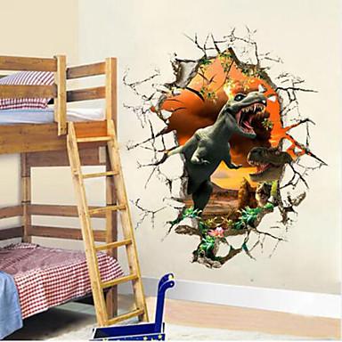 Eläimet Wall Tarrat 3D-seinätarrat,PVC 50*50*10cm