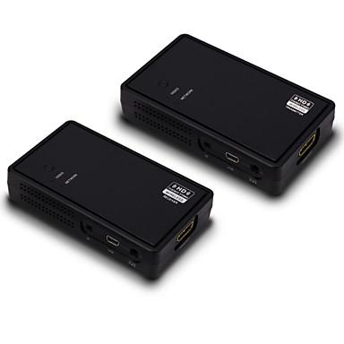 PC의 HDTV DVD 플레이어 무선 확장 키트를 통해 인기있는 무선 HDMI 비디오 1백65피트 (50m) 1080p의 60HZ의 HDCP의 V1.4 3D HDMI