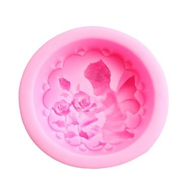 Backform Blume Obstkuchen Plätzchen Kuchen Silikon Heimwerken Valentinstag