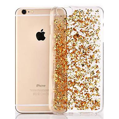 Etui Til Apple iPhone 8 / iPhone 8 Plus / iPhone 6 Plus Gjennomsiktig Bakdeksel Glimtende Glitter Myk TPU til iPhone 8 Plus / iPhone 8 / iPhone 6s Plus