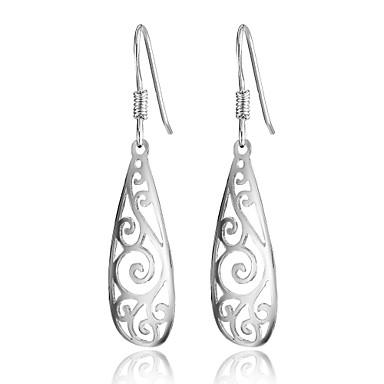 Earring Dråpeøreringer Smykker Dame Sølv 1 stk Sølv