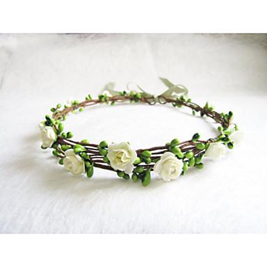voordelige Dames Sieraden-Dames Meisjes Bloemen Bloemenstijl Vintage Papier Haarbanden Fascinators Hoofd Sieraden Bruiloft Feest