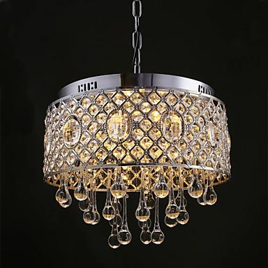Modern Contemporary Crystal Designers Chandelier Downlight For Living Room Bedroom Kitchen Dining Study Office Hallway 110 120V 4930557 2018