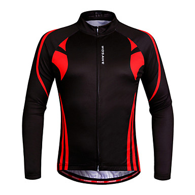 WOSAWE Camisa para Ciclismo Mulheres Unisexo Manga Longa Moto Pulôver Camisa/Roupas Para Esporte Blusas Secagem Rápida Design Anatômico