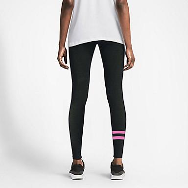 Naisten koot Juoksu Pants Kompressiovaatteet Alaosat Hengittävä Nopea kuivuminen Korke hengittävyys (>15,001g) PuristusJooga Kuntoilu