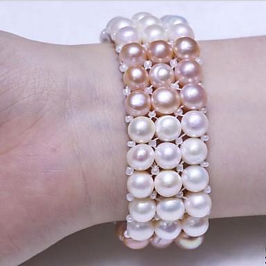 Dame Perle Tråd Armbånd Perle