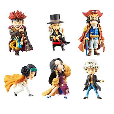 애니메이션 액션 피규어 에서 영감을 받다 One Piece 코스프레 PVC 8cm CM 모델 완구 인형 장난감