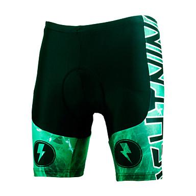 ILPALADINO Herre / Unisex Fôrede sykkelshorts Sykkel Shorts / Fôrede shorts / Bunner 3D Pute, Fort Tørring, Vindtett Ferie, Mote Lycra