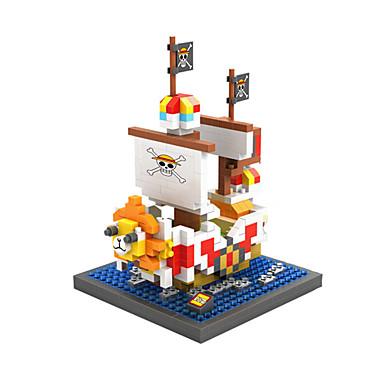 Valkoinen / Sininen / Oranssi ABS Rakennuspalikoita DIY lelut
