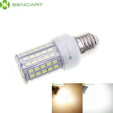 SENCART 8W 3000-3500/6500-7500lm E14 / GU10 / B22 LED Mais-Birnen Eingebauter Retrofit 102 LED-Perlen SMD 5630 Wasserfest / Dekorativ