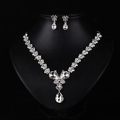 Damen Schmuck / Imitierte Perlen Schmuck-Set - Anderen Weiß