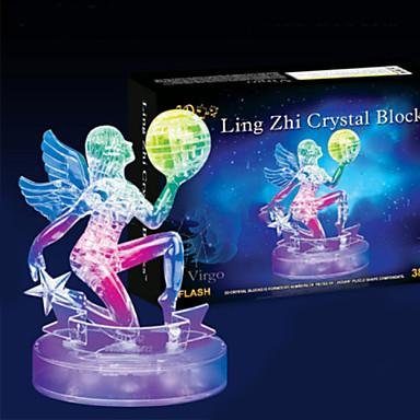 voordelige 3D-puzzels-Legpuzzels 3D-puzzels Kristallen puzzels Bouw blokken DHZ-speelgoed 38