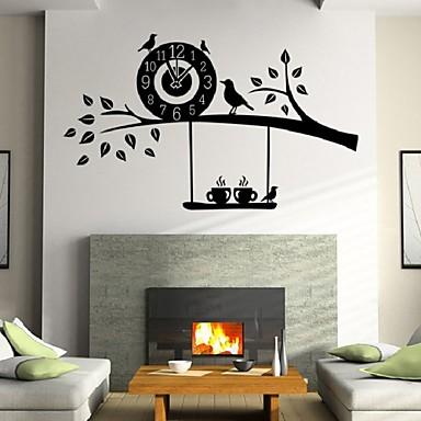 애니멀 / 카툰 / 로맨스 / 정물화 / 패션 / 휴일 / 모양 / 빈티지 / 사람들 / 판타지 / 레져 벽 스티커 3D 월 스티커,PVC 58*46cm
