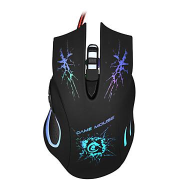 5500 dpi LED óptica 6d jogo mouse USB com fio de jogo pro ratos gamer parágrafo pc p4pm
