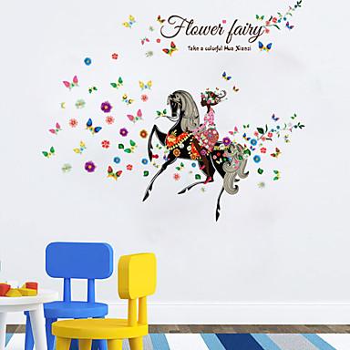 Animais / Romance / Floral / Pessoas / Fantasia Wall Stickers Autocolantes de Aviões para Parede,pvc 60*90cm