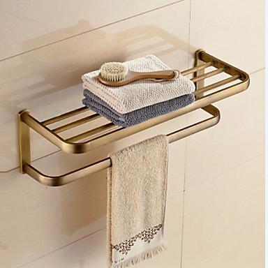 Badezimmer Regal / Antikes Messing Zeitgenössisch