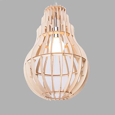 נברשות ,  וינטאג' אחרים מאפיין for LED עץ/במבוק חדר שינה חדר אוכל חדר עבודה / משרד מסדרון