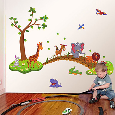 Tegneserie Wall Stickers Fly vægklistermærker,PVC 60*90cm (23.62*35.43inch)