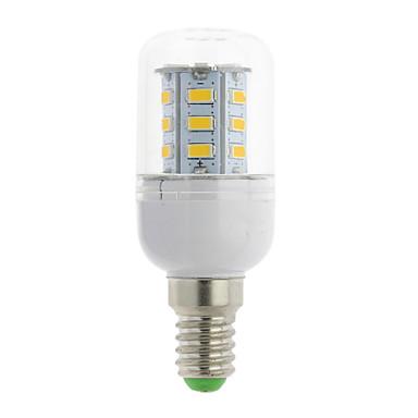E14 G9 GU10 B22 E12 E26 E26/E27 LED-maissilamput T 24 LEDit SMD 5730 Lämmin valkoinen Kylmä valkoinen 300lm 3000-6500K AC 85-265V