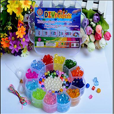 manuais criativas contas brinquedos educativos as últimas infantis caixa de ameixa forma de acrílico DIY