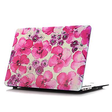 MacBook 케이스 용 MacBook Air 13인치 MacBook Air 11인치 꽃장식 플라스틱 자료