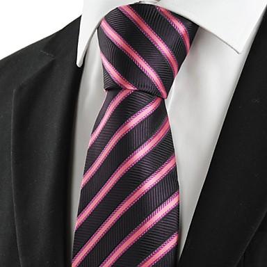 Solmio-Polyesteri,Raidallinen,Musta / Punainen