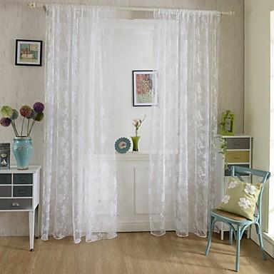 Rypytysnauha One Panel Window Hoito Kantri , Painettu Living Room Polyesteri materiaali verhot Drapes Kodinsisustus