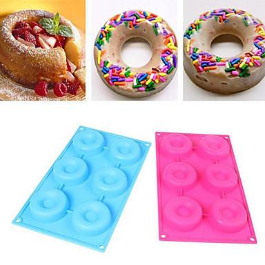 כלי Bakeware סיליקון ידידותי לסביבה Cake / פאי / שוקולד לתבנית אפייה משומנת