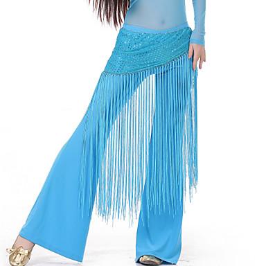 povoljno Odjeća i obuća za ples-Trbušni ples Pojas Žene Trening Spandex S resicama Trbušni ples Hip Šal / Balska sala